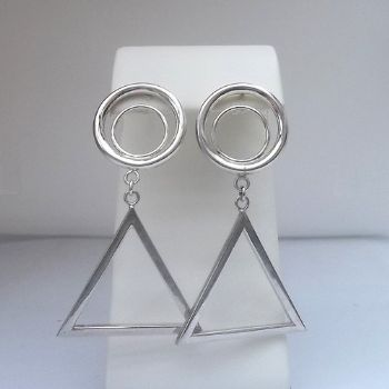 Triangle with Hoops